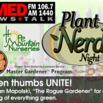 1st ANNUAL PLANT NERD NIGHT!
