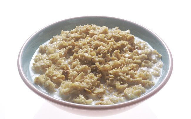 Oatmeal for chafing