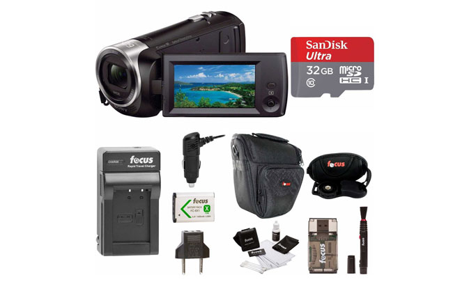 Sony HDR-CX405B Handycam HD Camcorder