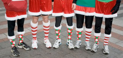 Jingle race feet