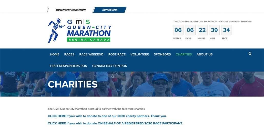 GMS Queen City Marathon-Regina