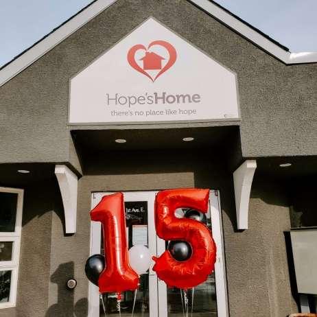Hope's Home 15th Anniversary