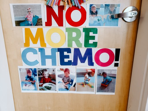 no more chemo - hope's home