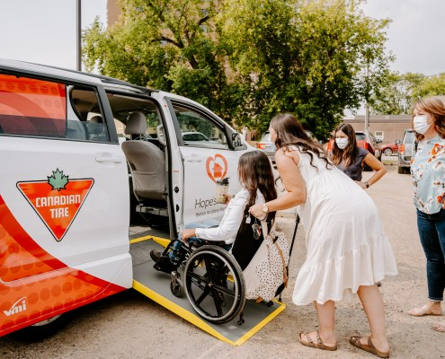 accessible vans for children with disabilities
