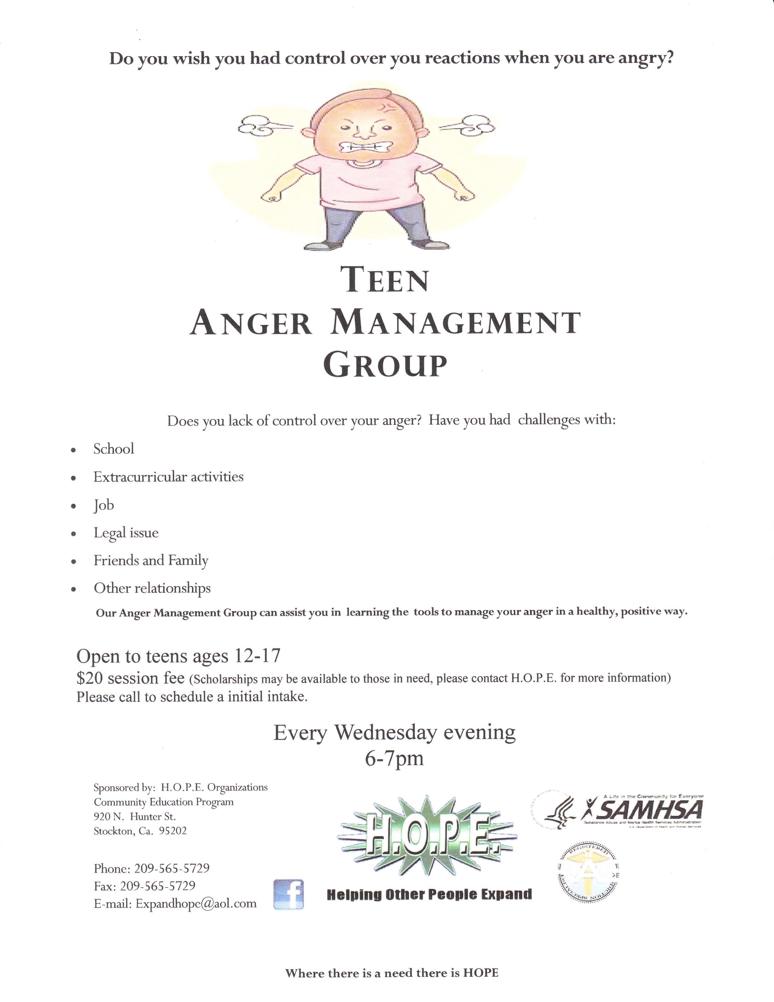 Buy Online Anger Management Activities Teens