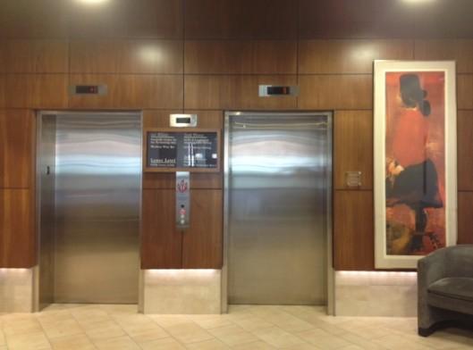 Coralville Performing Arts Center Elevator Doors