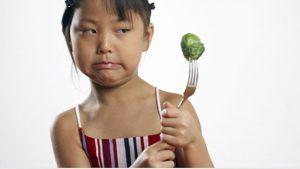 Some kids do not like vegetables