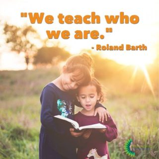 We teach who we are