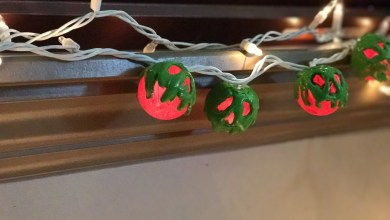 poisoned apple string lights