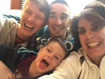 A visit with parents and their son, born through surrogacy!