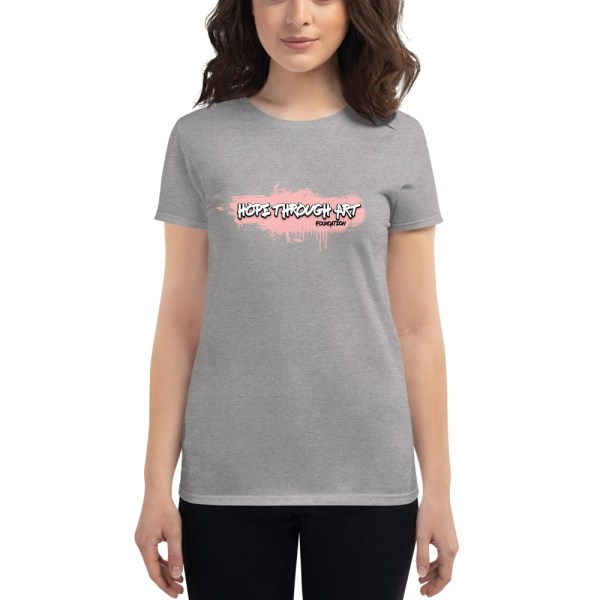 womens fashion fit t shirt heather grey front 602ae56a640d3