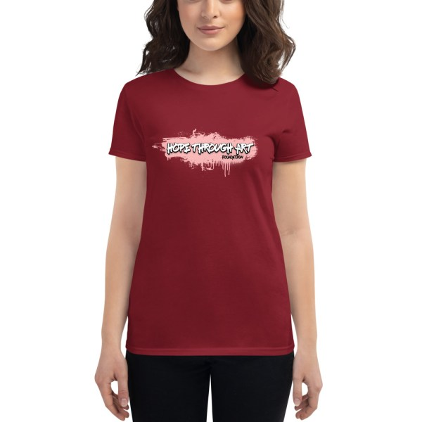 womens fashion fit t shirt independence red front 602ae56a6257f