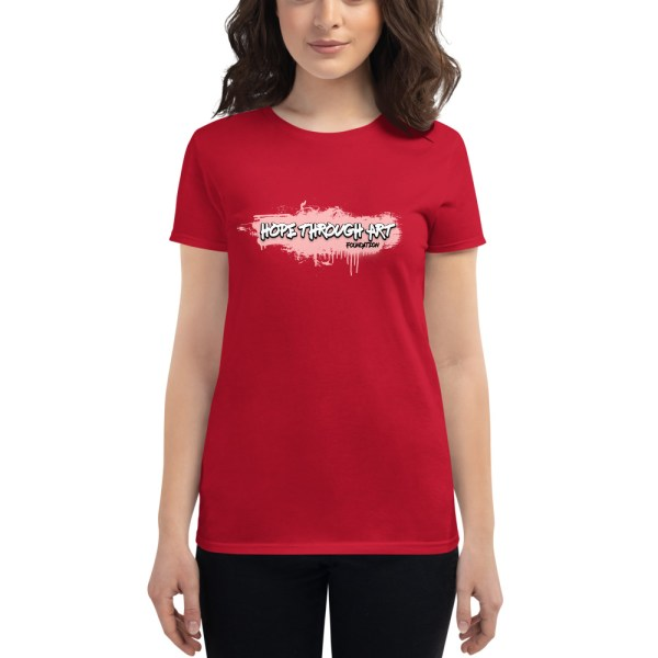 womens fashion fit t shirt red front 602ae56a62208