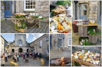 Outdoor Food Stations - Stables Courtyard