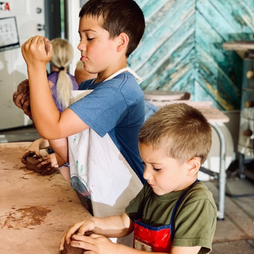 Our Homeschooling Day: Pottery Class