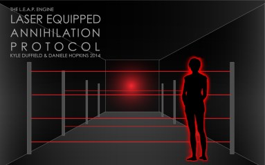 Diagram for Laser Equipped Annihilation Protocol