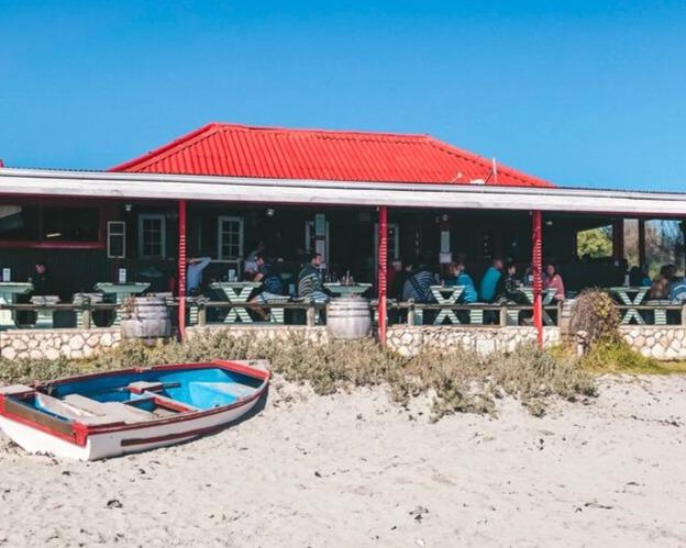 Voorstrand restaurant, Paternoster, South Africa
