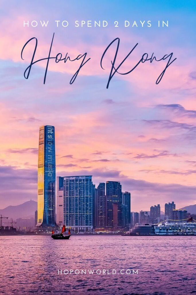 Hong Kong | Planning a 2 days in Hong Kong itinerary and wondering what to do? Follow my step-by-step Hong Kong itinerary to make the most of your 2 days in Hong Kong. #hongkong #itinerary #travelplanning #travel