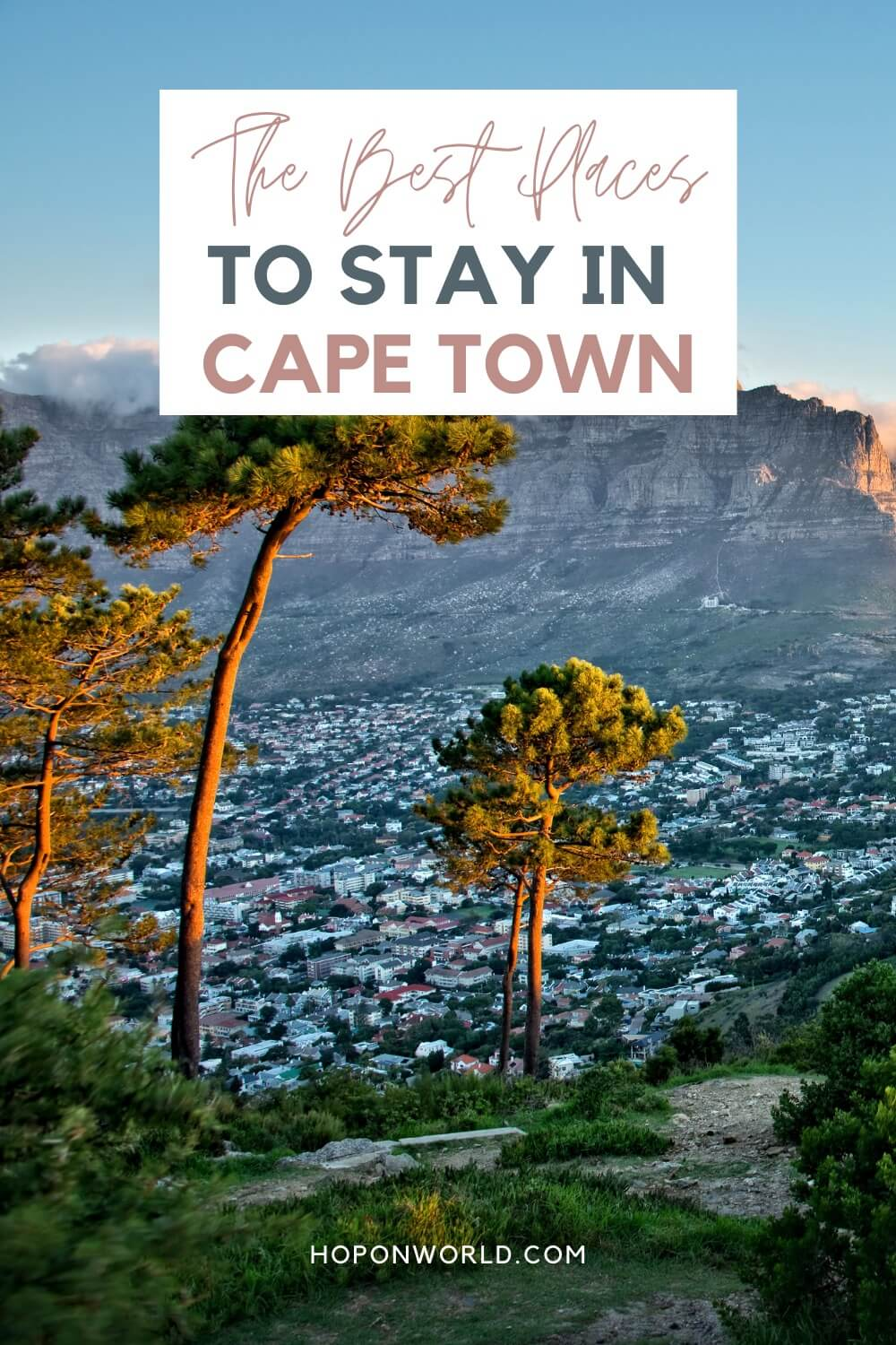 Wondering where to stay in Cape Town? These 15 Cape Town hotels and hostels have it all - from epic views to great location and service to beautiful interiors! Read along to find the best places to stay in Cape Town here! #wheretostayincapetown #accommodationincapetown #placestostaycapetown #capetownluxuryhotels #cheaphotelscapetown #capetownhotels