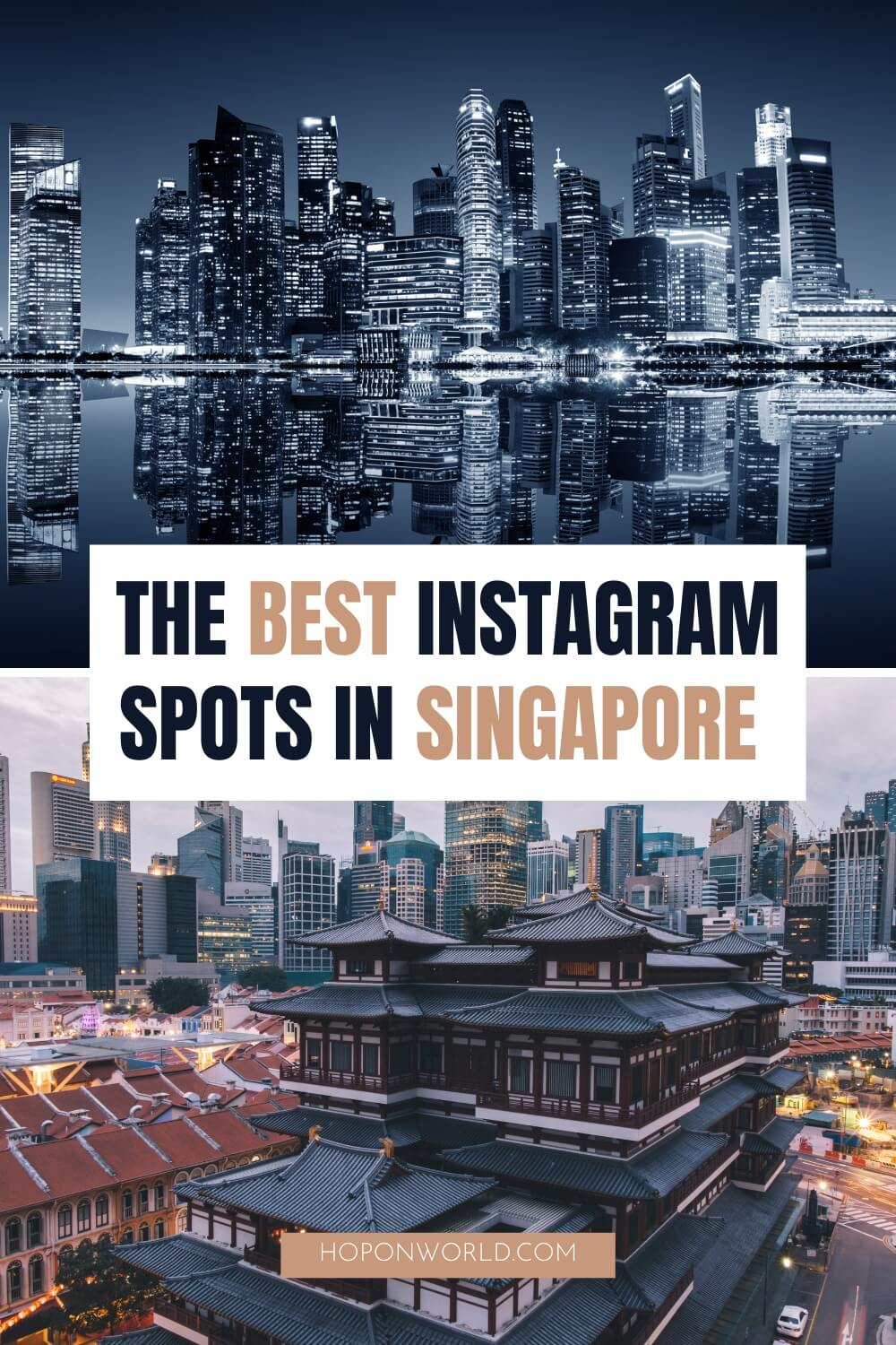 Looking for the most Instagrammable places in Singapore? This guide unpacks 16 of the best Singapore Instagram spots you don't want to miss, and includes tons of top tips to help you find the best photo spots in the Lion City. singapore photography | singapore photography travel | singapore instagram spots | most instagrammable places singapore | beautiful places singapore | singapore travel places | singapore places to visit