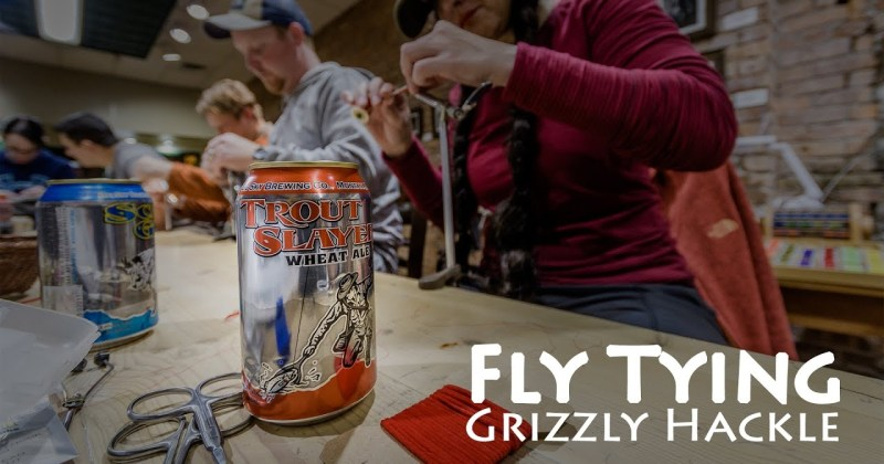 Fly Tying at Grizzly Hackle