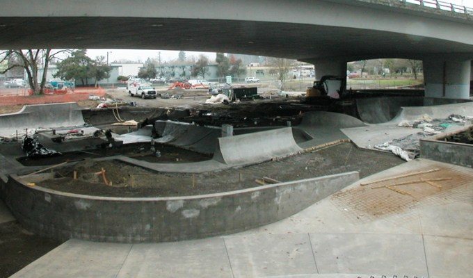 Eugene Skate Park Realized