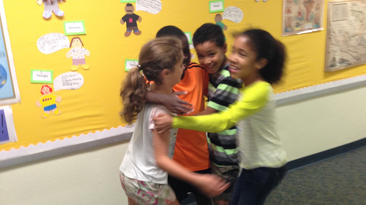Social Emotional Learning - Kids Hugging