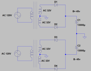 Super-High-current GFA-535 power supply
