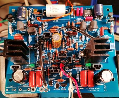GFA-585 Input Board Right