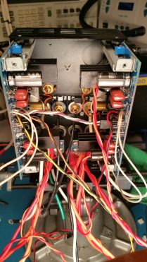 GFA-585 Input Boards Installed and ready for implant.