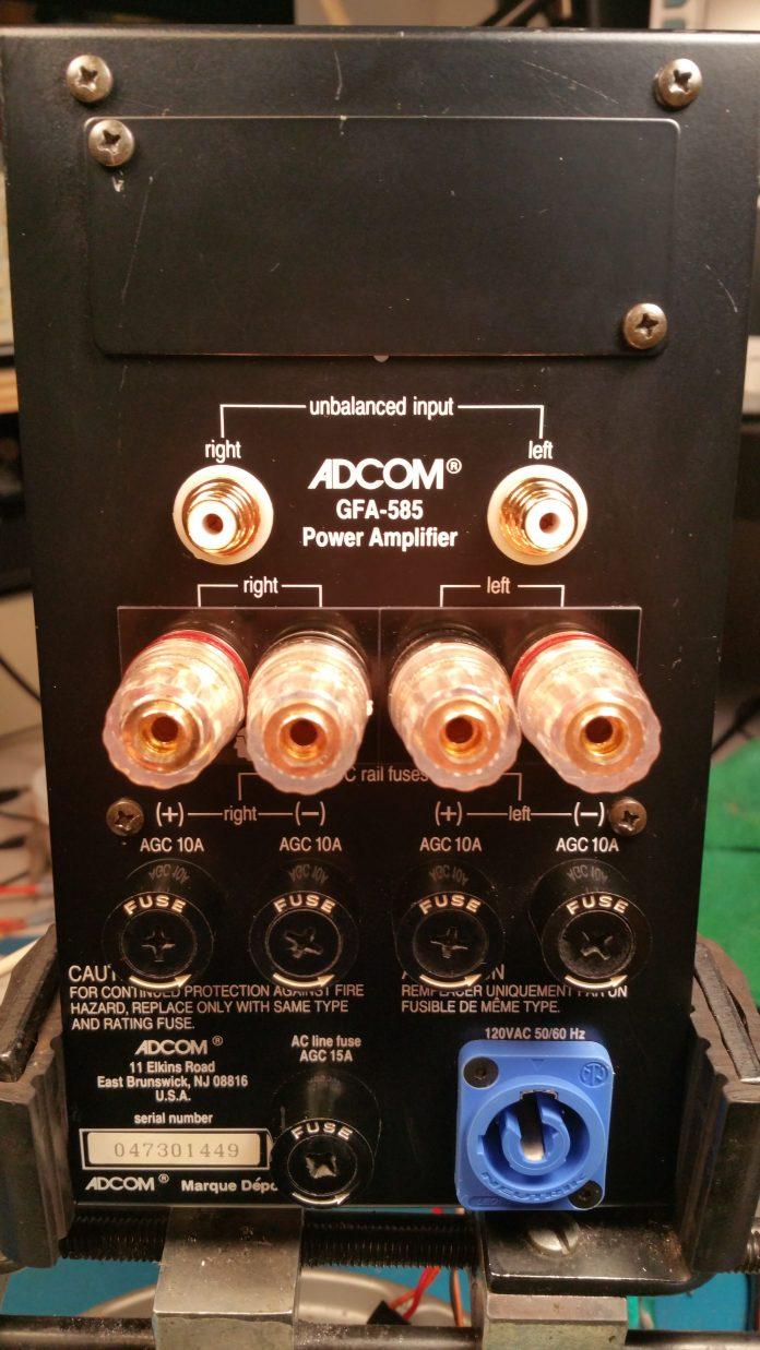 GFA-585 Back Panel