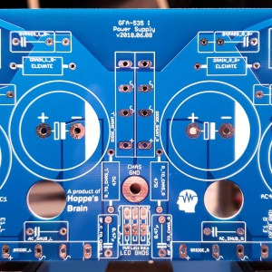 Hoppe's Brain Adcom GFA-535 MK1 Power Supply Board