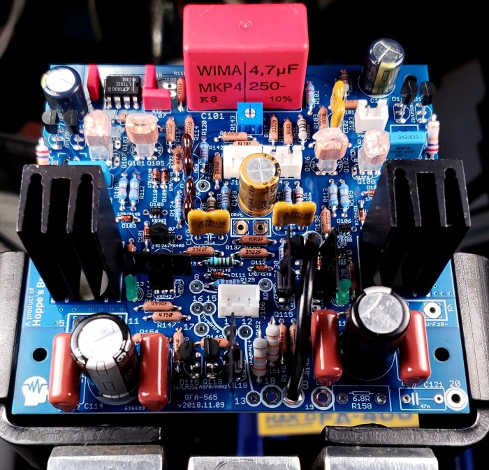 Hoppe's Brain GFA-565 Input Board