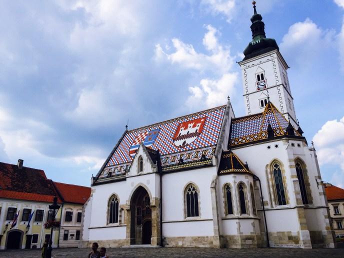 St Mark's Church, Upper Town (Gornji grad)