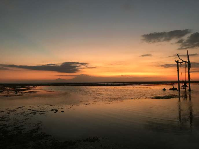 Yet another gorgeous sunset at Gili T