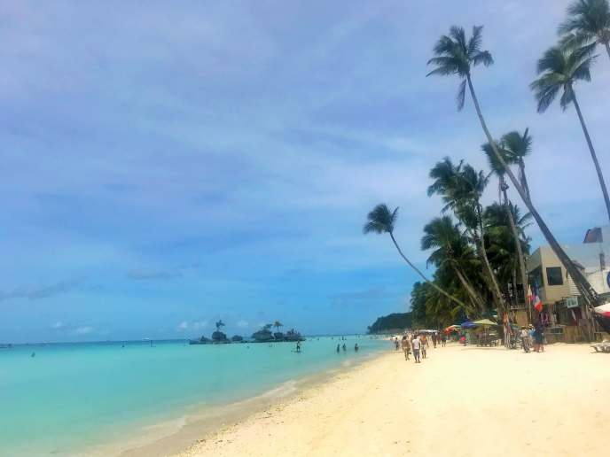 The White Beach, Boracay