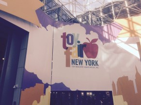 Javits Center in Manhattan, Entrance to NY Toy Fair