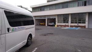 川崎の介護タクシー メーター検定