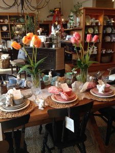 Spring Table Setting: Pottery Barn