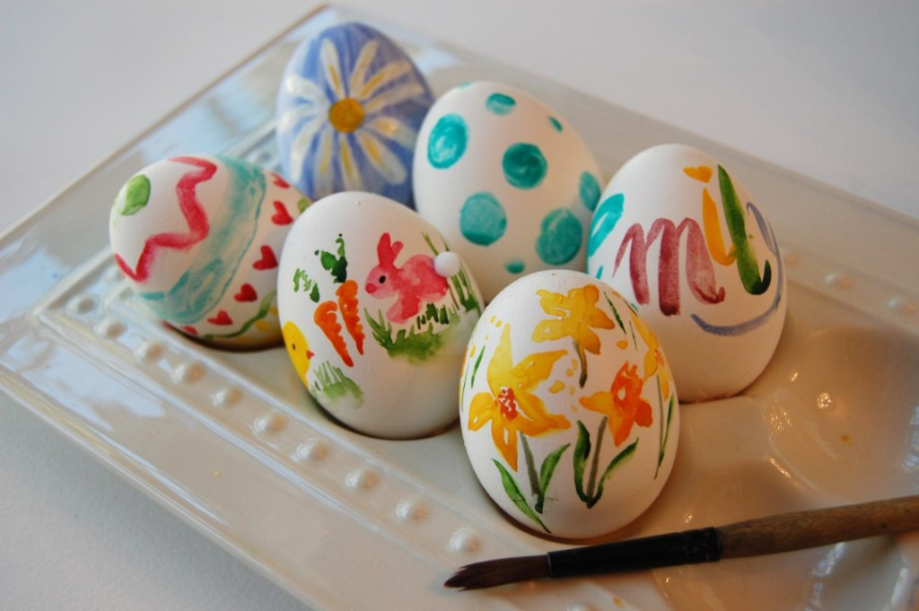 3 Easy Steps to Pinterest-worthy Watercolored Eggs