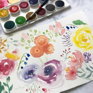 Learn Watercolor Florals