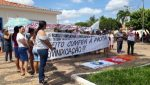 Protesto por pagamento de salários marcou a terça 10/12 em Gonçalves Dias