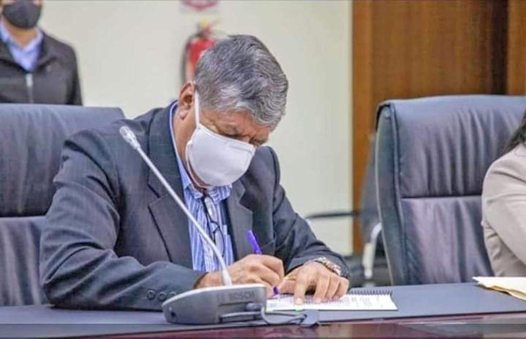El burgomaestre, Germán Sánchez, dejó de acudir al Municipio días antes de conocer el resultado.