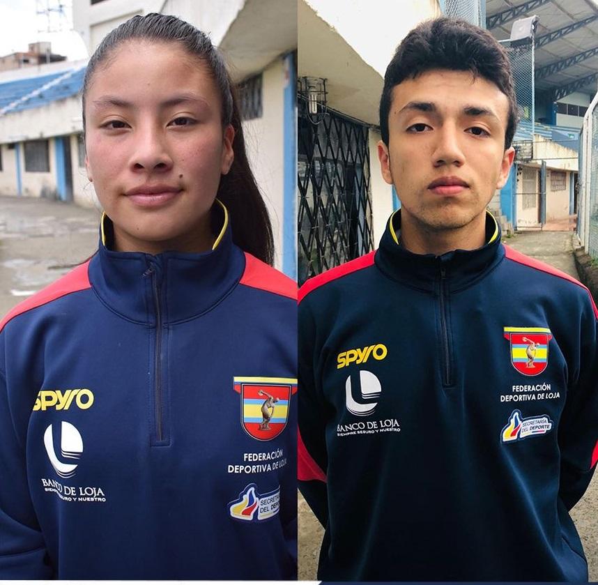 Ellos son: Johan Ordóñez y Emily Pinos, quienes esperan ser parte del elenco nacional.