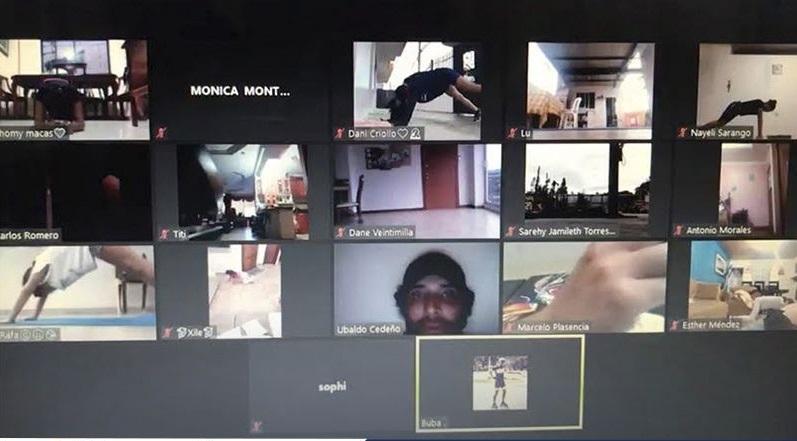La formación se cumple de forma virtual.