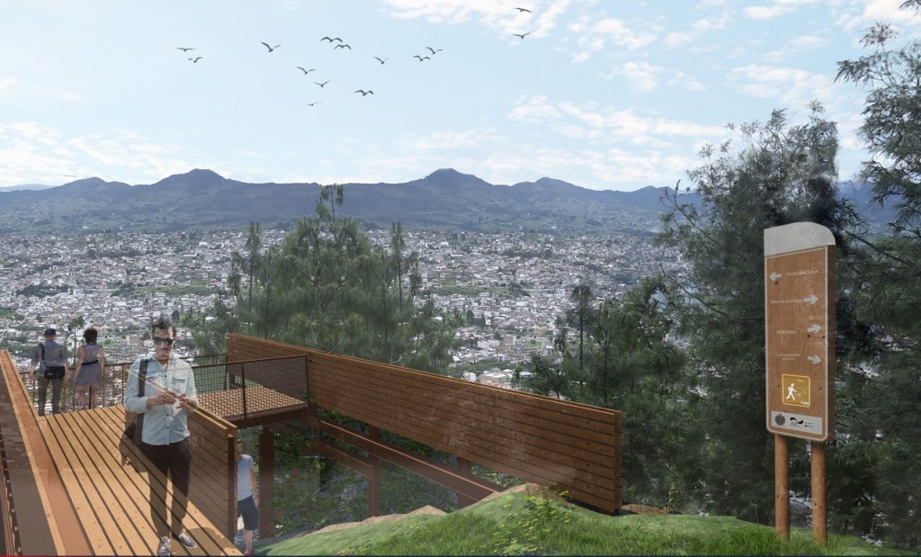 La intención es generar un espacio con más áreas verdes.
