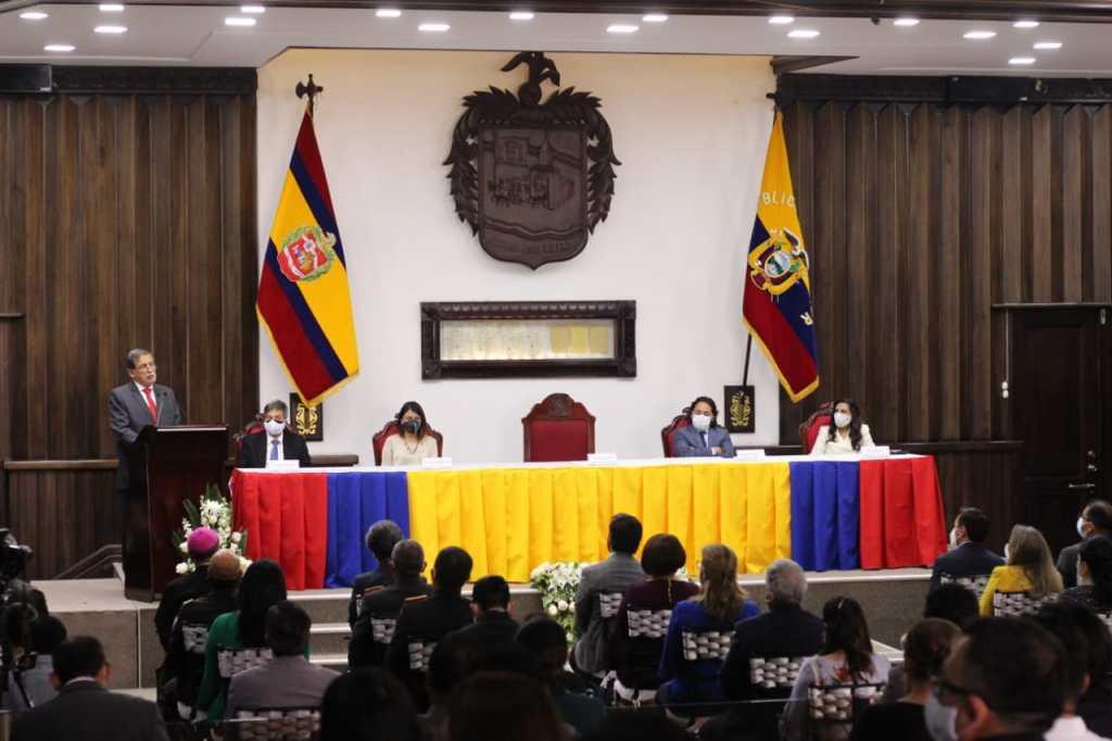 El evento se desarrolló en el Salón del Cabildo.