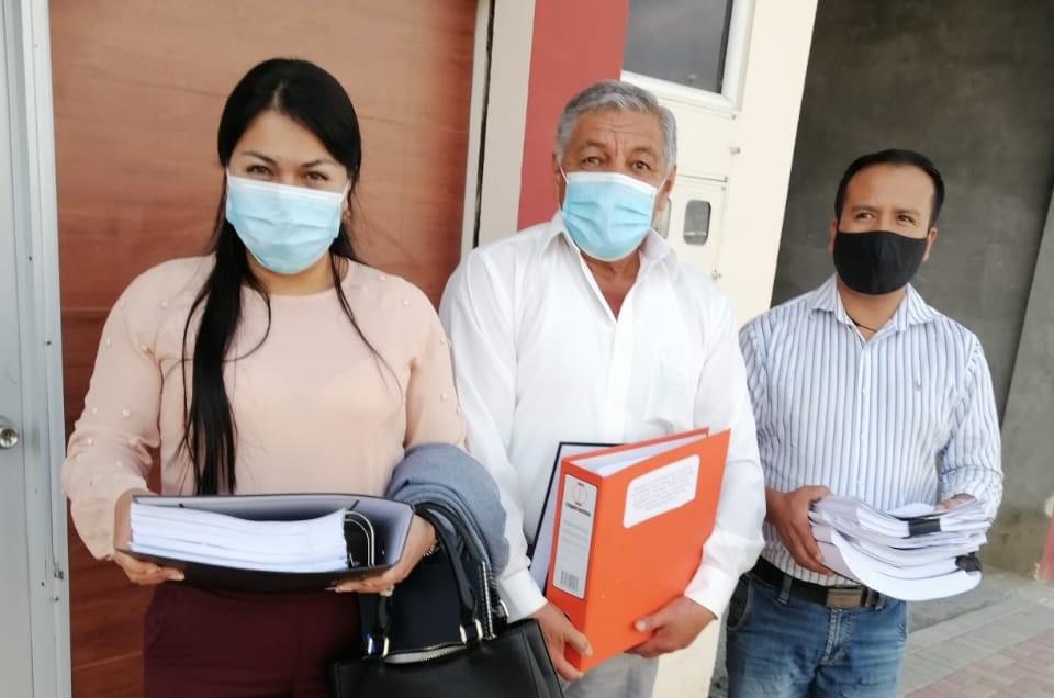 Yennifer Nathalia López, Jorge Leonardo Naranjo y Ronald Freire dicen que el pedido de información no fue bien visto por el Alcalde, resintiéndose.
