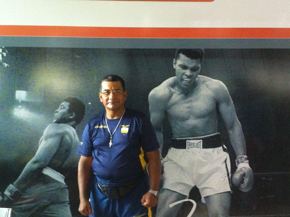 Milter Rivadeneira Arteaga llegó a ser entrenador de selecciones nacionales de box.
