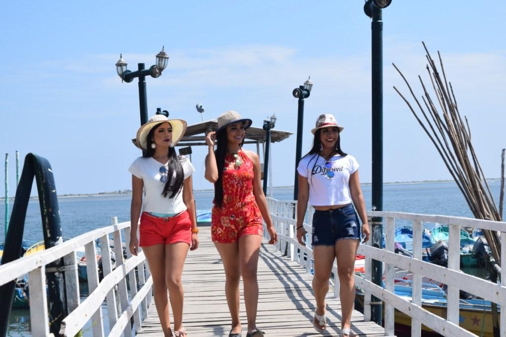 La isla San Gregorio cuenta con su propio muelle de llegada para embarcaciones turísticas que parten desde Huaquillas.